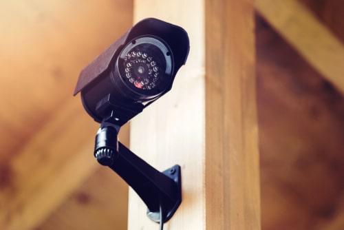 Ueberwachungskamera im Außenbereich